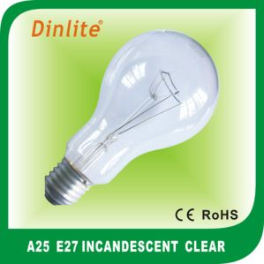 China manufacturer A25 incandescent bulb pictures & photos