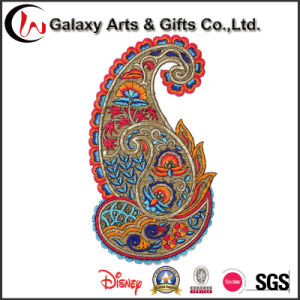 Colorful Embroidery Emblems /Embroidery Iron on Patch for Sale pictures & photos