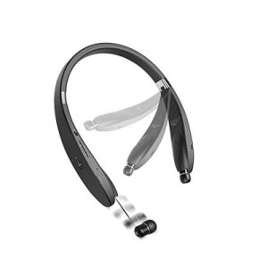Sporty Foldable Neckband Bluetooth Stereo Headphones with Retractable Function pictures & photos