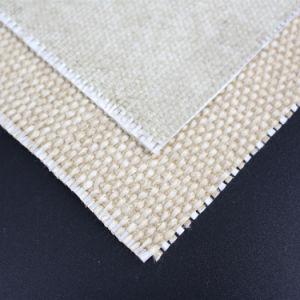 70oz Flame Fire Retardant Glass Fiber Coated Vermiculite Cloth pictures & photos