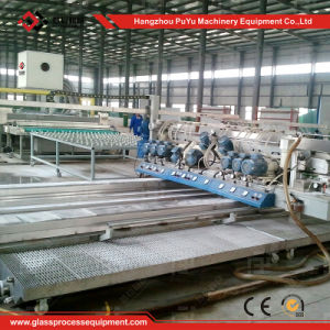 Horizontal Glass Edging and Washing Machine for Construction Glass pictures & photos
