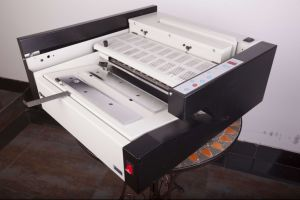 Automatic Perfect Glue Binder (WD-J380) Glue Binding Machine pictures & photos