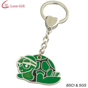 Custom Wholesale Hard Enamel Cute Pig Keychain pictures & photos