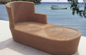 Leisure Daybed Rattan Outdoor Furniture-15 pictures & photos