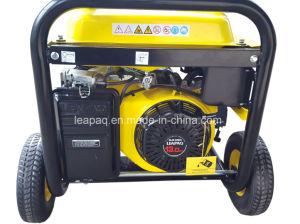 5.0 Kw Wheels & handle Portable Gasoline Generator pictures & photos