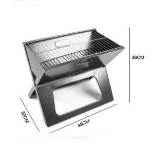 X Shape Portable Outdoor Camping Charcoal Stainless BBQ Grill pictures & photos