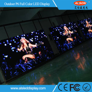 Full Color P6 Fixed Installation LED Display with High Resolution pictures & photos