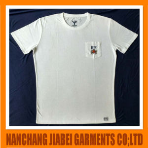 Men′s Soft with Pocket Printing Logo Uniform T-Shirt pictures & photos