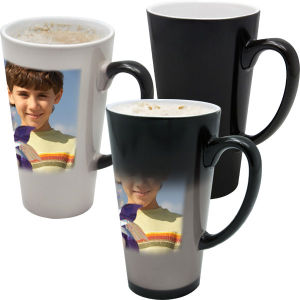 Hot Water Magic Sublimation Latte Mug for Photo Printing 17oz pictures & photos