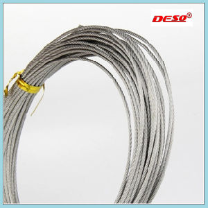 High Tension 6*37 Galvanized Steel Wire Rope pictures & photos