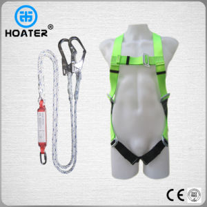 Polyester Fall Protection Safety Belt Rope with Shock Absorber pictures & photos