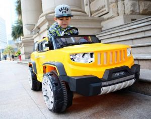 off-Road Kids Ride on Remote Control Power Car with MP3 pictures & photos
