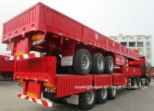 L 13 Meters, H: 60cm, Semitrailer with Side Wall pictures & photos