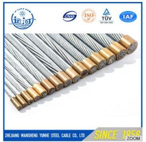 Galvanized Steel Wire Strand / Steel Wire Rope for Overhead Line ADSS Cable Fitting pictures & photos