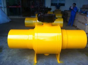 Full Weld Ball Valve (Q367F) pictures & photos
