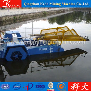 Small Aquatic Weed Cutting Boat Semi Automatic Algae Harvester pictures & photos