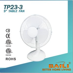 "9"" Cooling Table Fan with 3 Comfort Speeds pictures & photos"