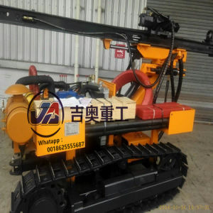 Promotion 30m Deep Crawler Ore Drilling Rig for Drill Hard Rock Hole pictures & photos