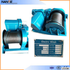 Double Girder Electric Hoist Winch Trolley for Chemical Industry pictures & photos