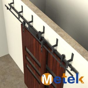 High Quality Sliding Barn Door Curved Door Track pictures & photos