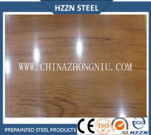 Oak Texture Color Coated Steel Coil pictures & photos