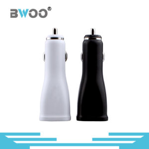 Mini Dual USB Ports Car Charger 5.0V\2.1A Universal Charger pictures & photos