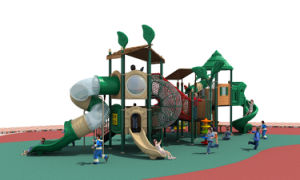 2017 New High-Quality Outdoor Playground Equipment Slide (HD17-001A) pictures & photos