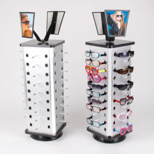 Professional Rotary Acrylic Sunglass Display Stand for 36 Pairs Glasses, China Acrylic Eyewear Display Rack Factory! pictures & photos