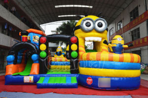 TV Cartoon Inflatable Bouncer Obstacle for Party (CHOB1106-1) pictures & photos