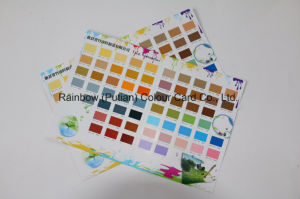 Different Shape of Matt/Gloss Color Chip Sample pictures & photos