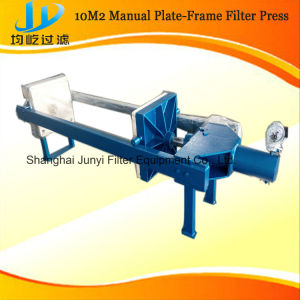 Manual 10m2 Small Plate-Frame Filter Press pictures & photos