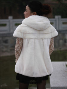 Women′s White Fur Vest Customization Is Accepted, Fashion, Clothing pictures & photos