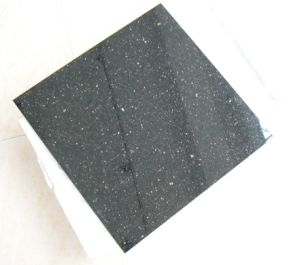 Black Galaxy Tiles for Floor, Building Material, Granite Tile Hzx0411j pictures & photos