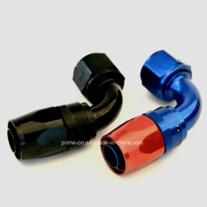 -10 90 Degree Swivel-Seal Female Aluminum Hose End Fitting pictures & photos