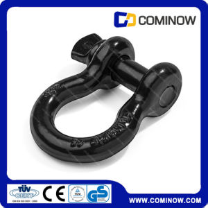 G209 Screw Pin Anchor Shackle / Us Type Drop Forged Bow Shackle En13889 pictures & photos