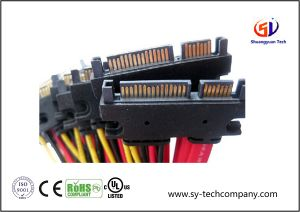 Laptop 4 Pin / 7 Pin SATA Wire Harness with PVC Jacket pictures & photos