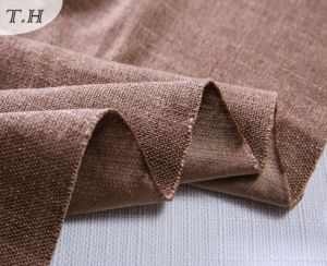 Upholstery Fabric Stock Linen Sofa and Furniture Fabric pictures & photos