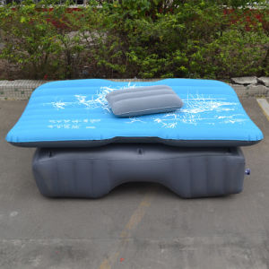 Travel Mattress Air Bed Inflatable Thicker Back Seat (blue) pictures & photos