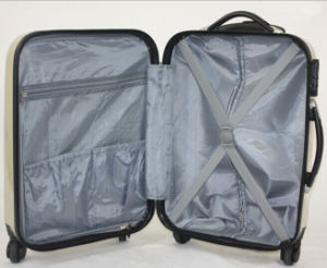 New Design ABS+PC Printed Hard Side Travel Luggage pictures & photos