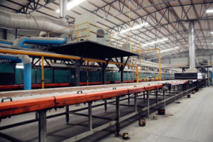 Wood Look Ceramic Tile Production Line pictures & photos