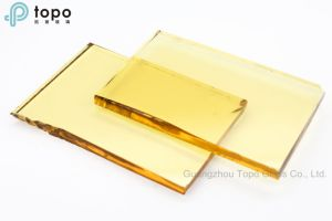 8mm Yellow Float Glass / Golden Decorative Construction Glass (C-Y) pictures & photos