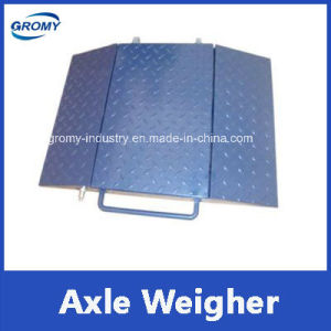 Electronic Portable Axle Weighing Scale Axle Weighing Portable Truck Scales pictures & photos