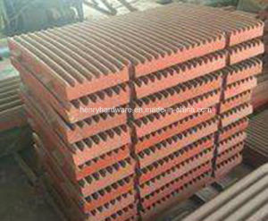 Casting of Crusher Jaw Plate pictures & photos