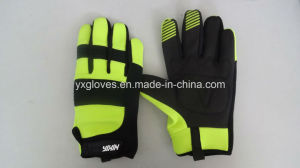 Safety Glove-Working Glove-Mechanic Glove-Construction Glove-Building Glove pictures & photos