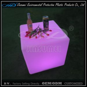 Cube Seat LED Furniture with Plastic Material pictures & photos