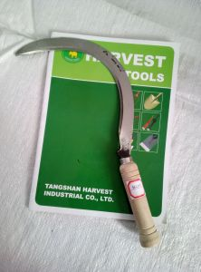 Good Quality Wood Handle Sickle pictures & photos