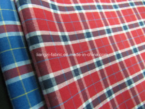 T/C Yarn Dyed Poplin Check Fabric for Shirt pictures & photos