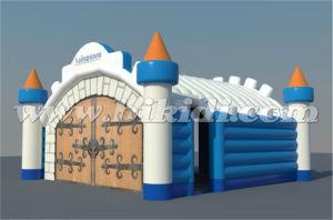 Unique Deisgn Inflatable Tunnel Tent, Castle Style Inflatable Tent K5081 pictures & photos