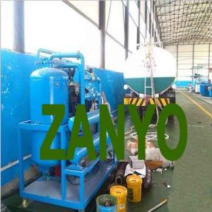 Zyd-I Transformer Oil Purifier Placed Horizontally, The Two Evaporation Chambers pictures & photos