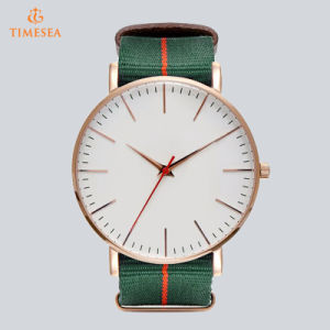 New Style Hand Watch Men Custom Watch Big Dail Wristwatches Fashion Men Watches with Black Brown and Nylon Band 72864 pictures & photos